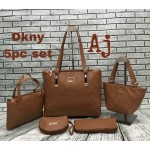 DKNY 5 pieces bags set