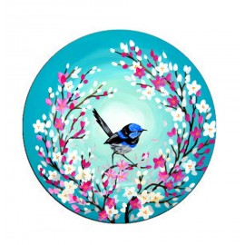 Beautiful Bird and Flower Design Mobile Popsocket
