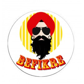 Befikre Sardar Ji Printed Mobile Pop Socket