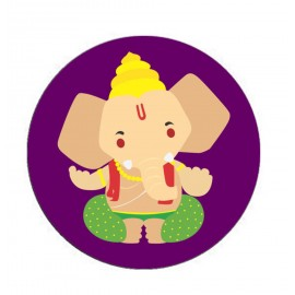Beautifull Lord Ganesh Printed on Popsocket for Mobile