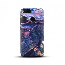 Anime Sunset Design Mobile Cover For All Mobile