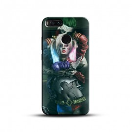 Beautiful Joker And Harley Quinn Printed Cover For All Mobile