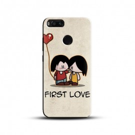 Cute Couple First Love Printed Mobile Cover For All Mobiles