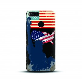 Printed america liberty Case and Cover For Mobile Phone