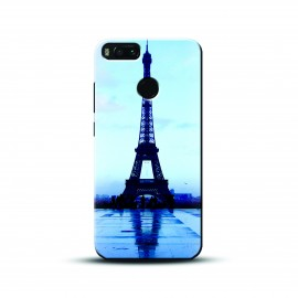 Designer blue eiffel Case and Cover For Mobile Phone