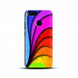 Designer color splash multi Case and Cover For Mobile Phone