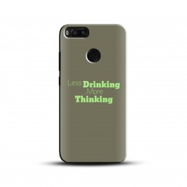 Designer drink think Case and Cover For Mobile Phone