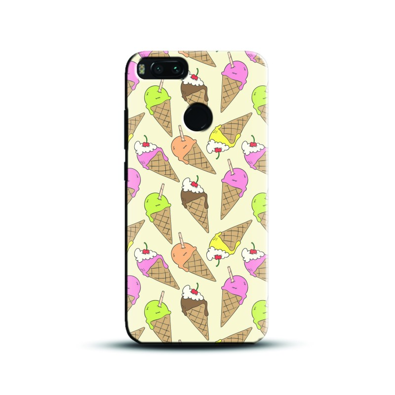 Design ice cream cone pattern Case and Cover For Mobile Phone
