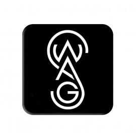 Designed Swag Printed Square Shaped Popsocket