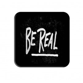 Be Real Printed Square Shaped Popsocket