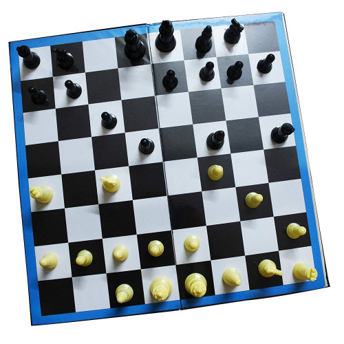 2 in 1 Chess & Ludo Strategy Board Game Accessories Traditional Board Game
