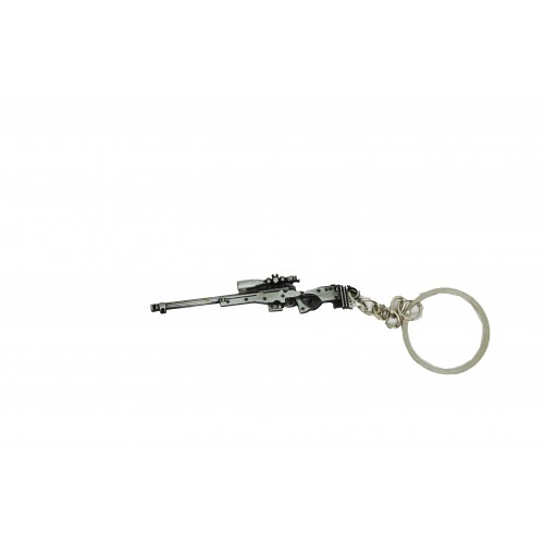PUBG Awm Sniper Weapon Gun Key Chain