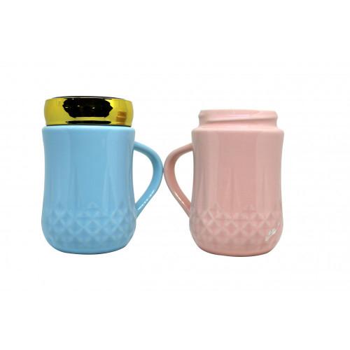 Unicorn steel mugs, Coffee Mug Set | MR. &Mrs. Printed