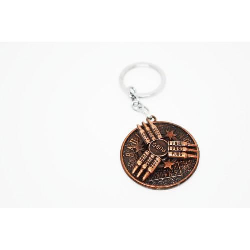 PUBG Bullet Rotating/Revolving  Metal Key chain