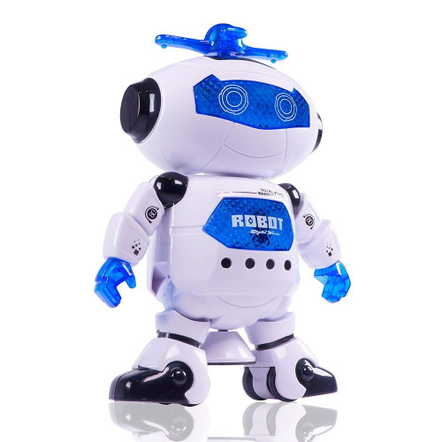 Dancing Robot with 3D Lights and Music, Multi Color Brand: Cossetpack