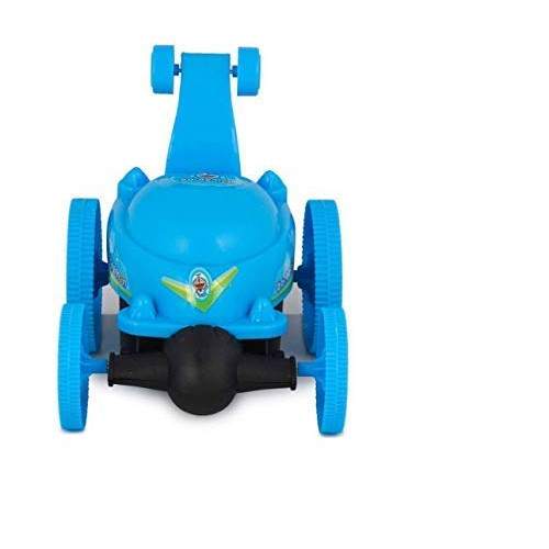 Doraemon Remote Control Wire Less Battery Operated 360 Degree Long Amazing Stunt Car ( Doremon ) Battery ( Not Included )