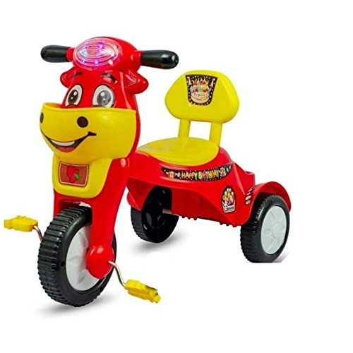 HK World Happy Birthday Tricycle with Music with Lights (Red)