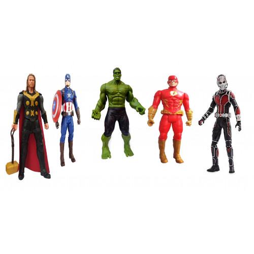 Justice Hero - Set of 5 Superheroes