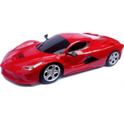 Rechargeable Remote Control Jackman Car for Kids (Red)