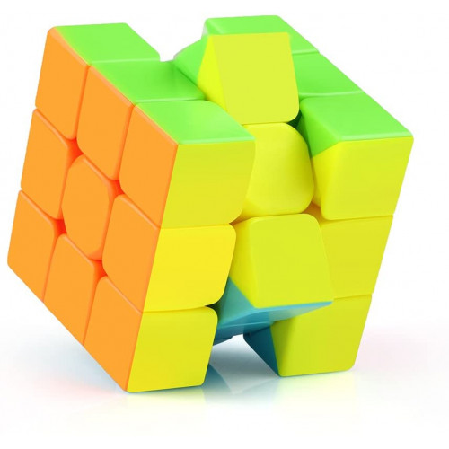 Magic cube speed puzzle, without stickers, model Qiyi Warrior W 3 x 3