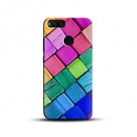3D Colorful Square Design Mobile Case for All Mobile