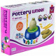 Pottery Wheel Clay Pot Making Machine Game with Colors and Stencils