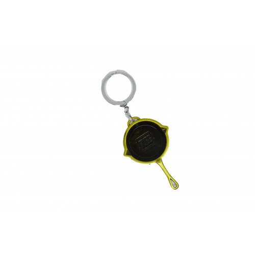 Pubg Frying Pan Metal Keychain
