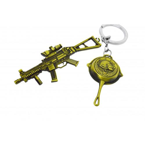 PUBG AKM Gun Keychain