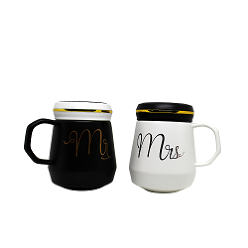 Fashion ceramics Mr. and Mrs. Printed | king Queen Printed | Be Mine Printed mugs  couple mugs