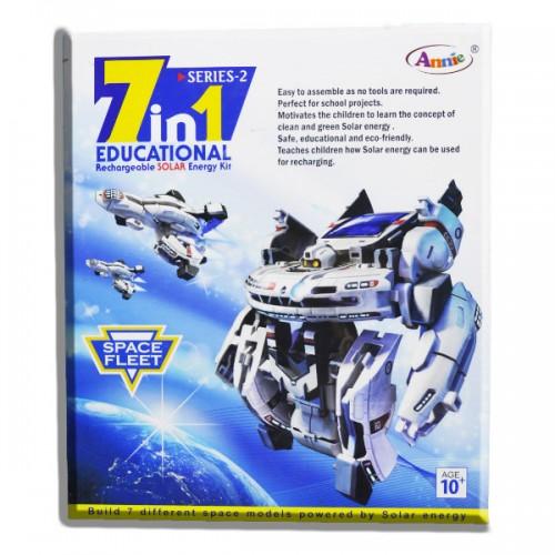 7 in 1 Solar robot Educational Recharable Solar Kit
