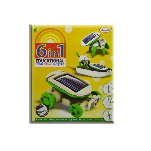 Annie 6 in 1 Educational | Hybrid Solar E Kit Series 1 | Multi Color