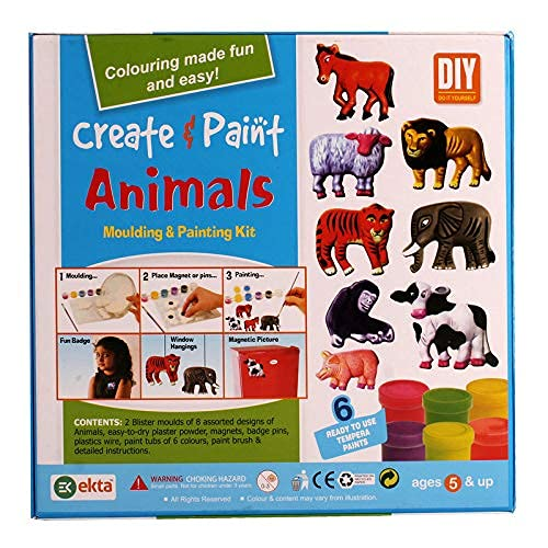 Create & Paint (Animals) Multicolor