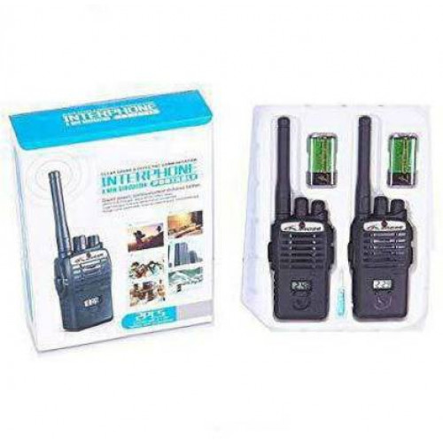 Wireless Portable Interphone | Walkie Talkie Set for Kids with LCD Display |