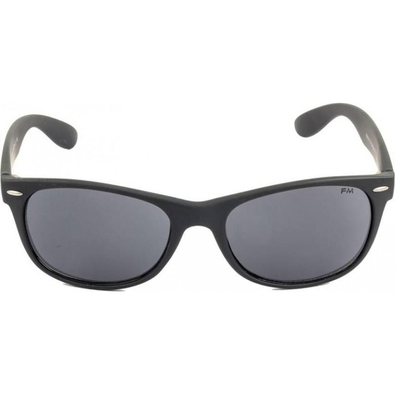 Frank Martin FM011 C1 Black Frame With Grey Glass Wayfarer Sunglasses