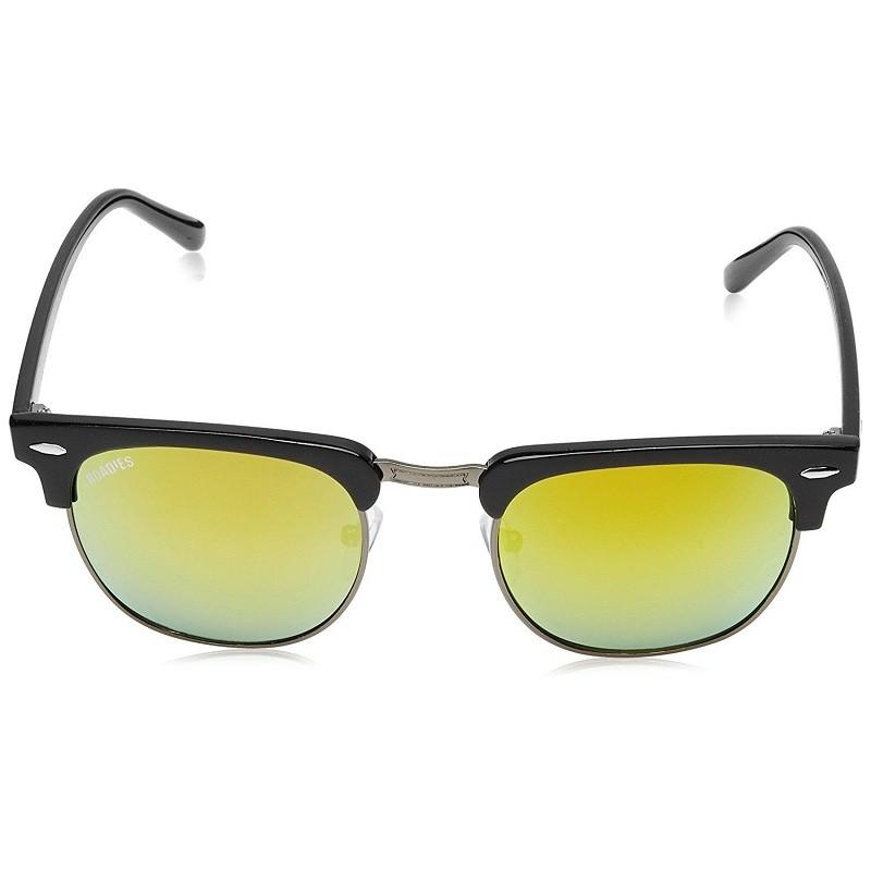 acb72b25c7 MTV Roadies RD-126-C5 UV Protected Black Frame With Yellow Unisex Wayfarer  Sunglasses