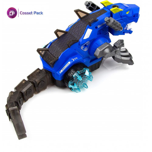 Mist Spraying Mechanical Dragon Toy with LED Light and Sound Toy for Kids