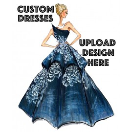 Customized Dresses , Gowns , Kurties & etc. ( For Exact Cost We Will Contact You )