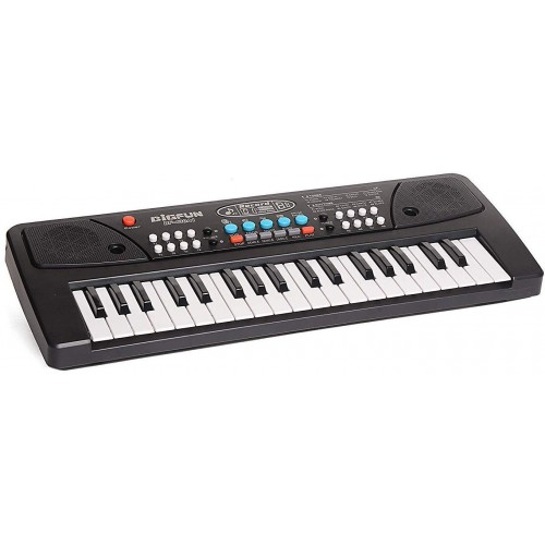 37 Key Piano Keyboard Toy for Kids with Mic Dc Power Option Recording Charger