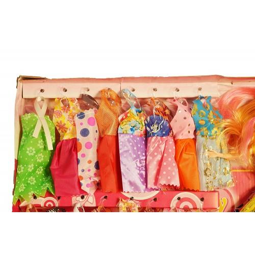 Fashion Complete Doll House Play with Miniature Princess Figurine