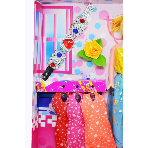 Fashion Barbiee Doll with Neckless