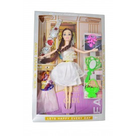 Fashion Barbiee Doll Shine Fashion Girl
