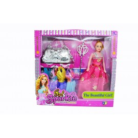 Fashion Barbiee Doll stylish girl doll