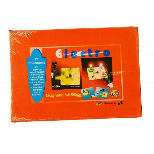 Electro Magnetic Set Creativity with Educational Learning Wooden Magnetic Puzzle Game