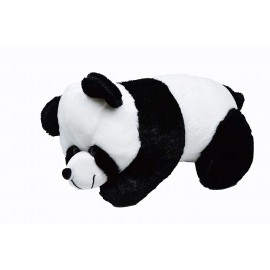 Stuffed Spongy Panda Teddy Bear (Black/White Color)