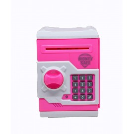 Wish Kart Money Safe Kids Savings ATM Bank with Electronic Lock